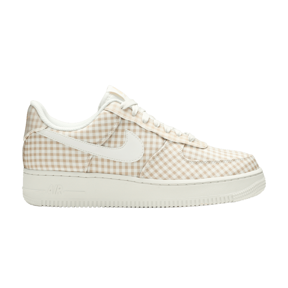 Wmns Air Force 1 Low QS 'Gingham Pack Beige' in 2020 | Air
