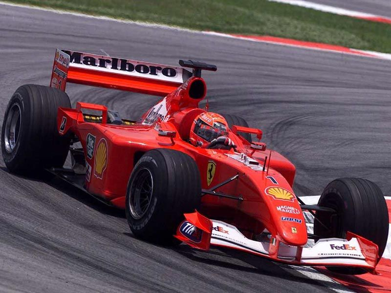 ferrari f2001 michael schumacher - photo #3
