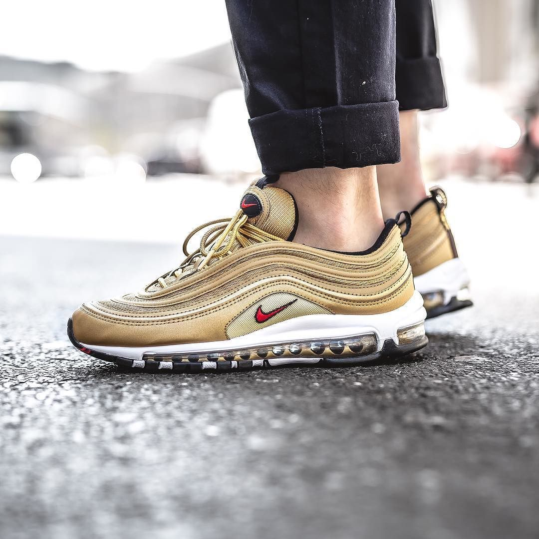 Nike Air Max 97 Og Qs Metallic Gold Avaliable In Store And Soon Online At Www Streetsupply Pl Nike Air Max Shoes Air Max 97