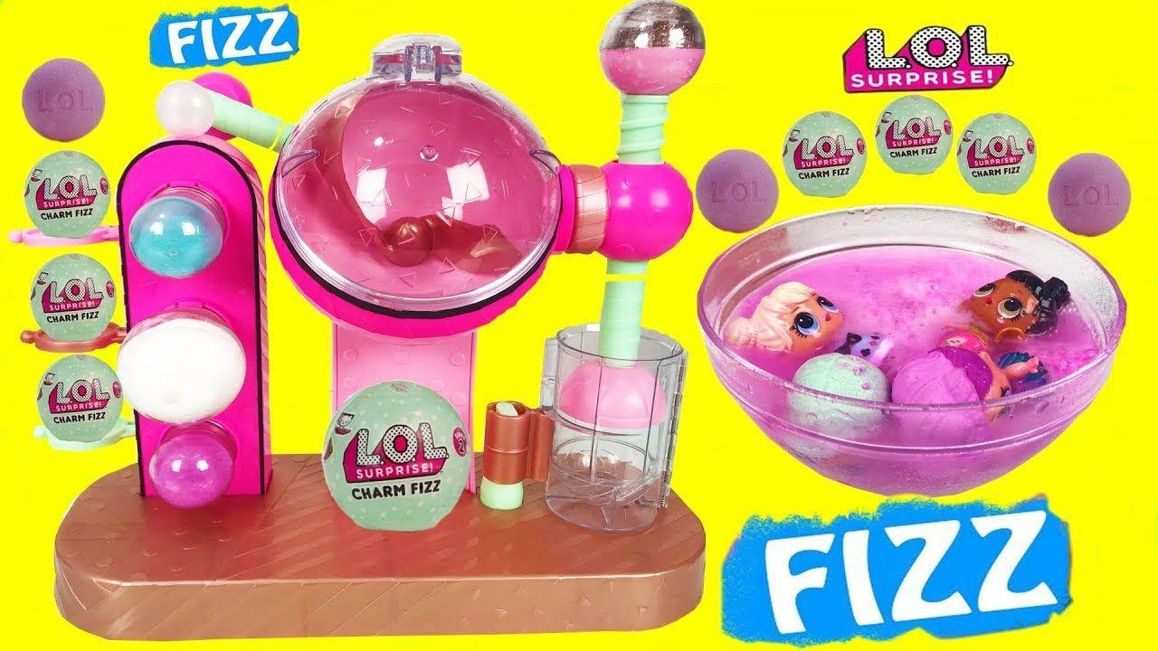 LOL Surprise Series 3 Charm Fizz Bath Bomb 2-Pack Mystery MGA CHOP
