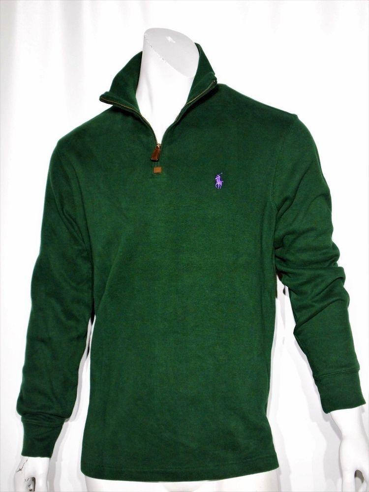 5de0e2d65 Polo Ralph Lauren french rib half zip pullover sweater size xxl   PoloRalphLauren  12Zip