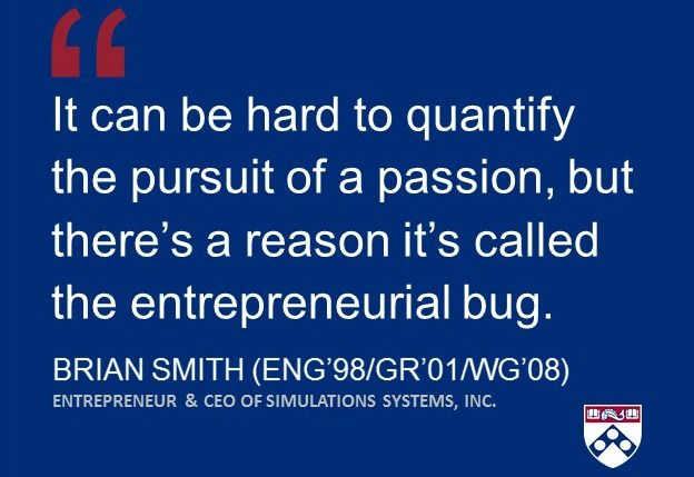 The entrepreneurial bug