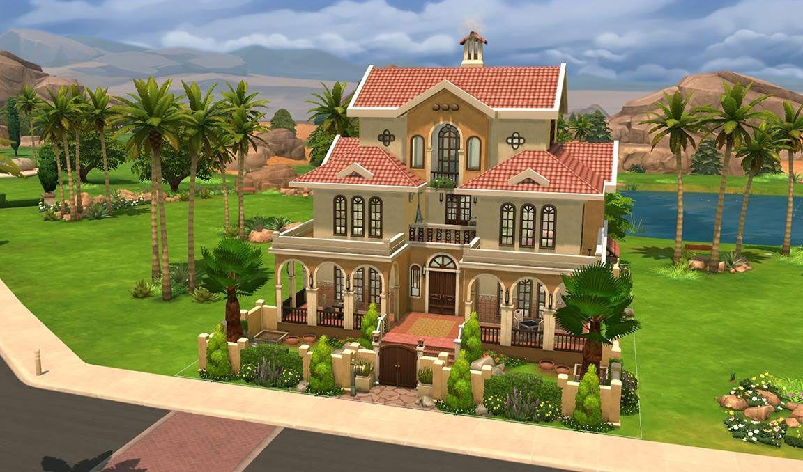 Resultado de imagen de casas sims 4 planos games for Planos de casas sims