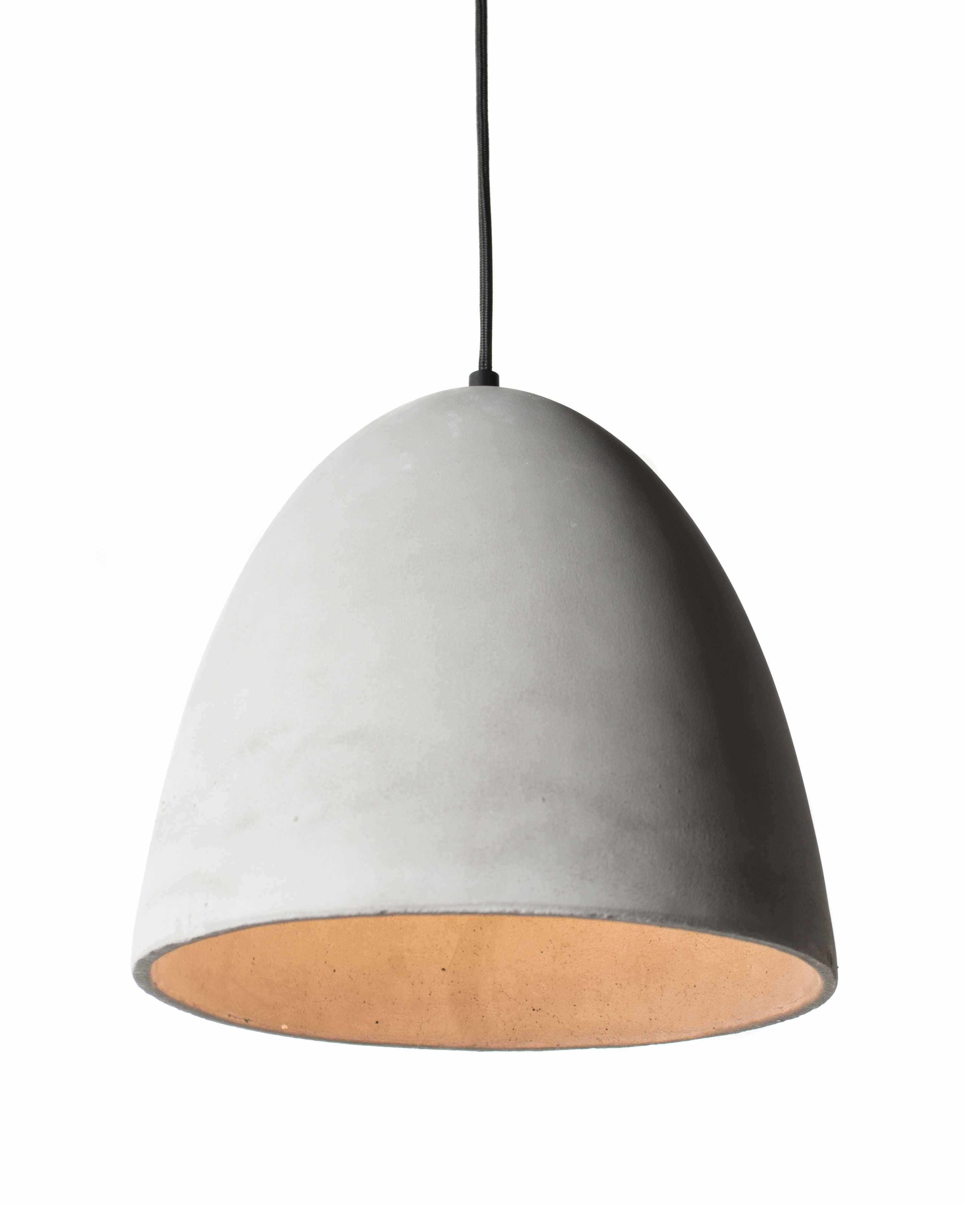 concrete brass messing lighting light ansicht q limited hell beton tisch product bcber pendant lampe