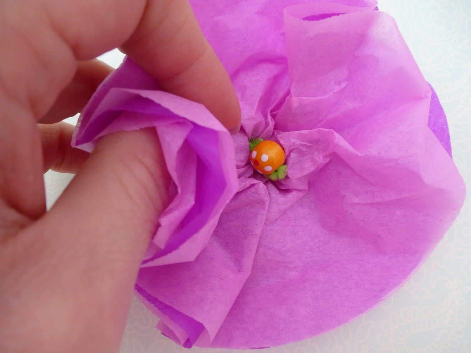 Creative Play Tissue Paper Flowers Tissue Paper And Craft Art