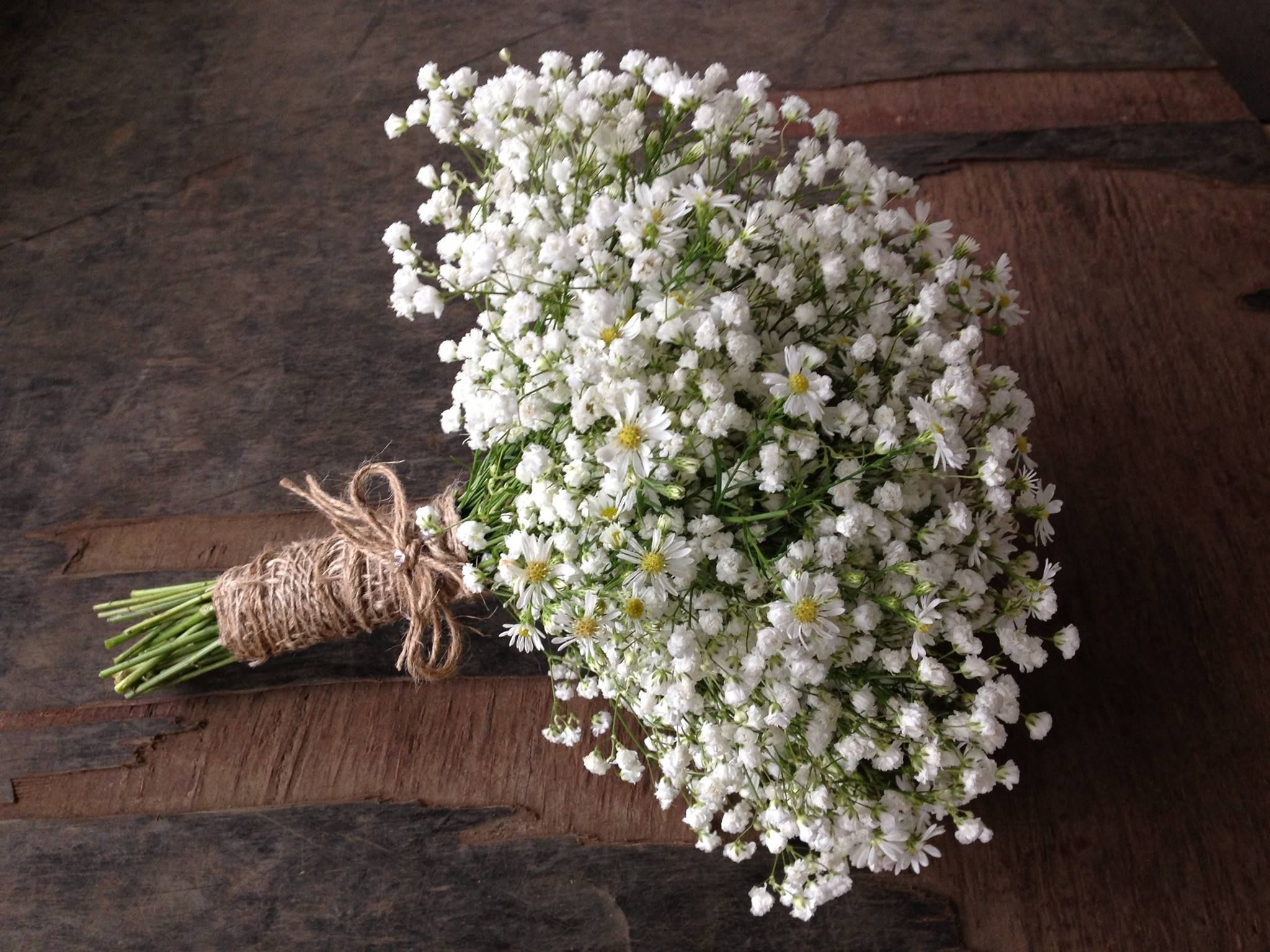 Baby S Breath Inspired Bridal Bouquet By Angie S Floral Design Thornlands Brisbane Qld Bo Hoa Hoa