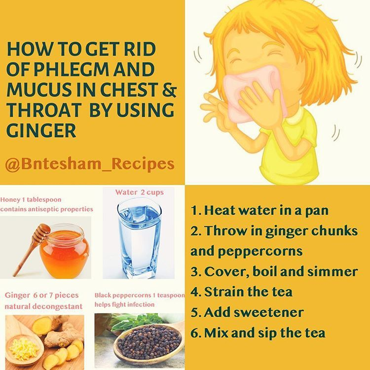 How To Get Rid Of Phlegm In Infant Chest