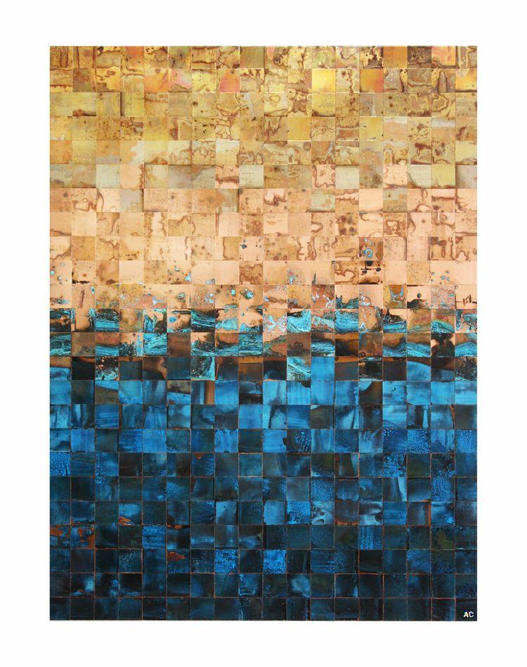 Copper Wall Art Sculptures Adam Colangelo