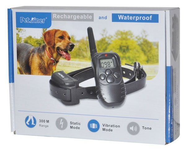 Review Petrainer 330 Yards Remote Dog Training Collar In The