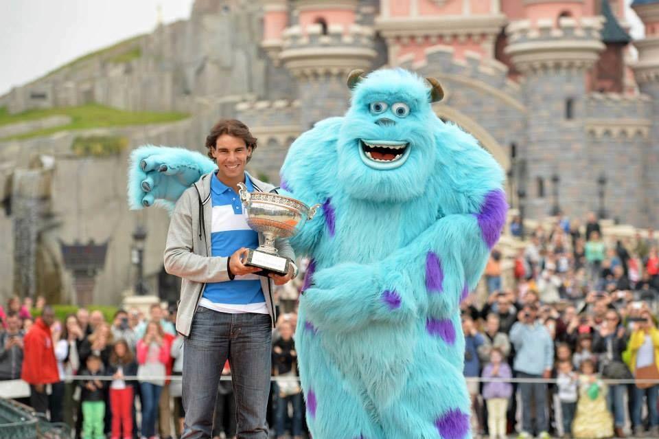 Rafa at Euro Disney