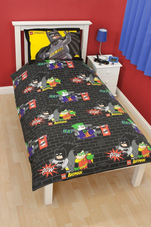 Best Character World 135 X 200 Cm Lego Batman Cards Single 400 x 300
