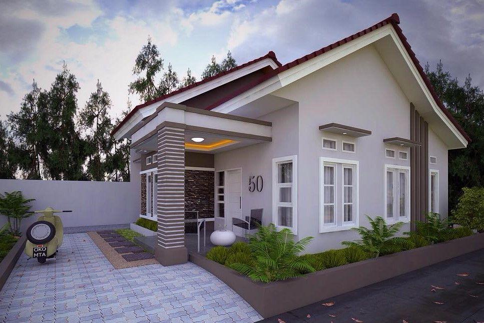 Model Rumah Minimalis Type 36 1 Lantai Rumah Minimalis Desain Rumah Rumah Indah