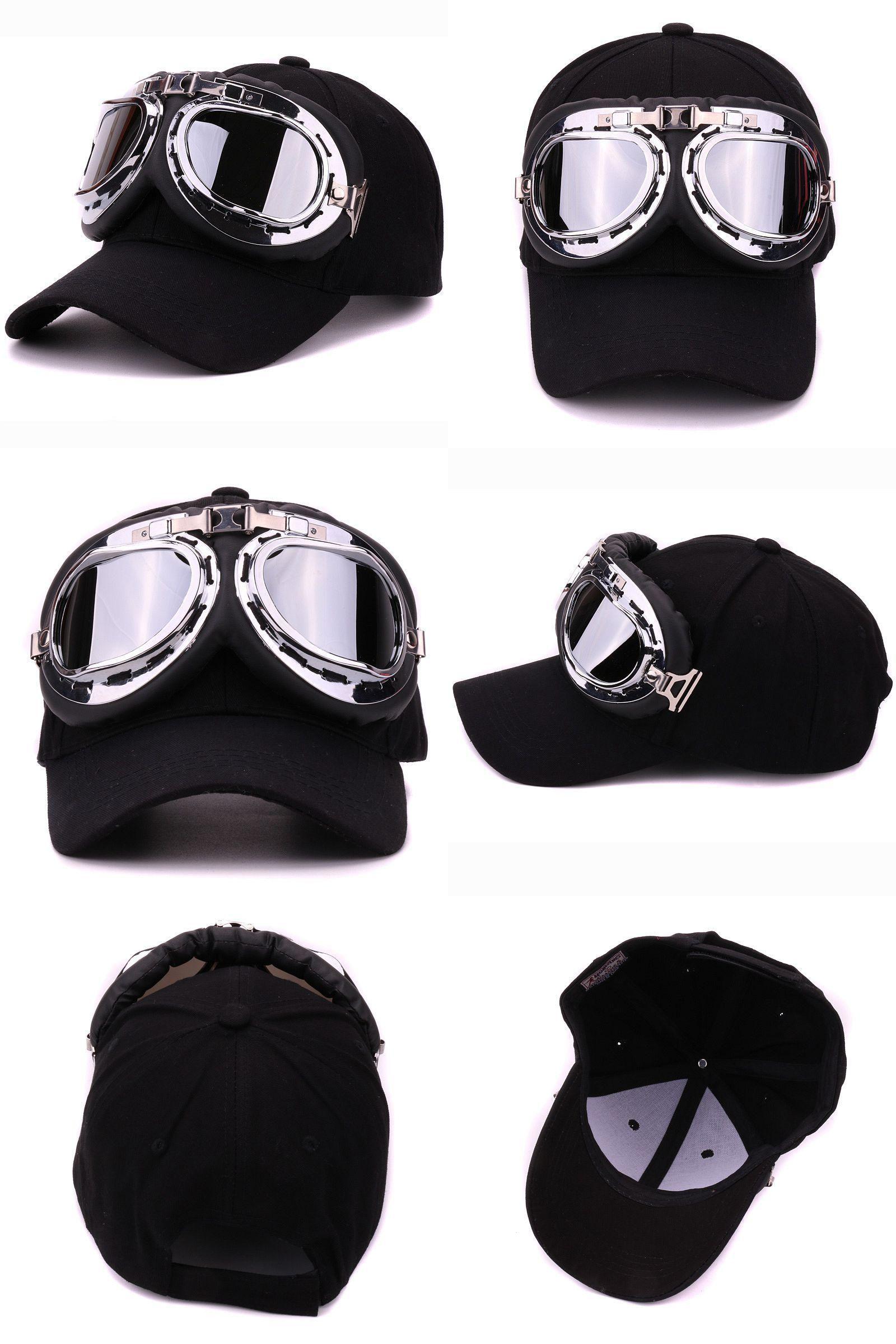 1ea724f20c8  Visit to Buy  Fancy cotton 6 panels ski goggles baseball cap with polite  glasses