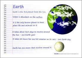 Solar System Scrapbook Sb6332 Sparklebox Homeschool