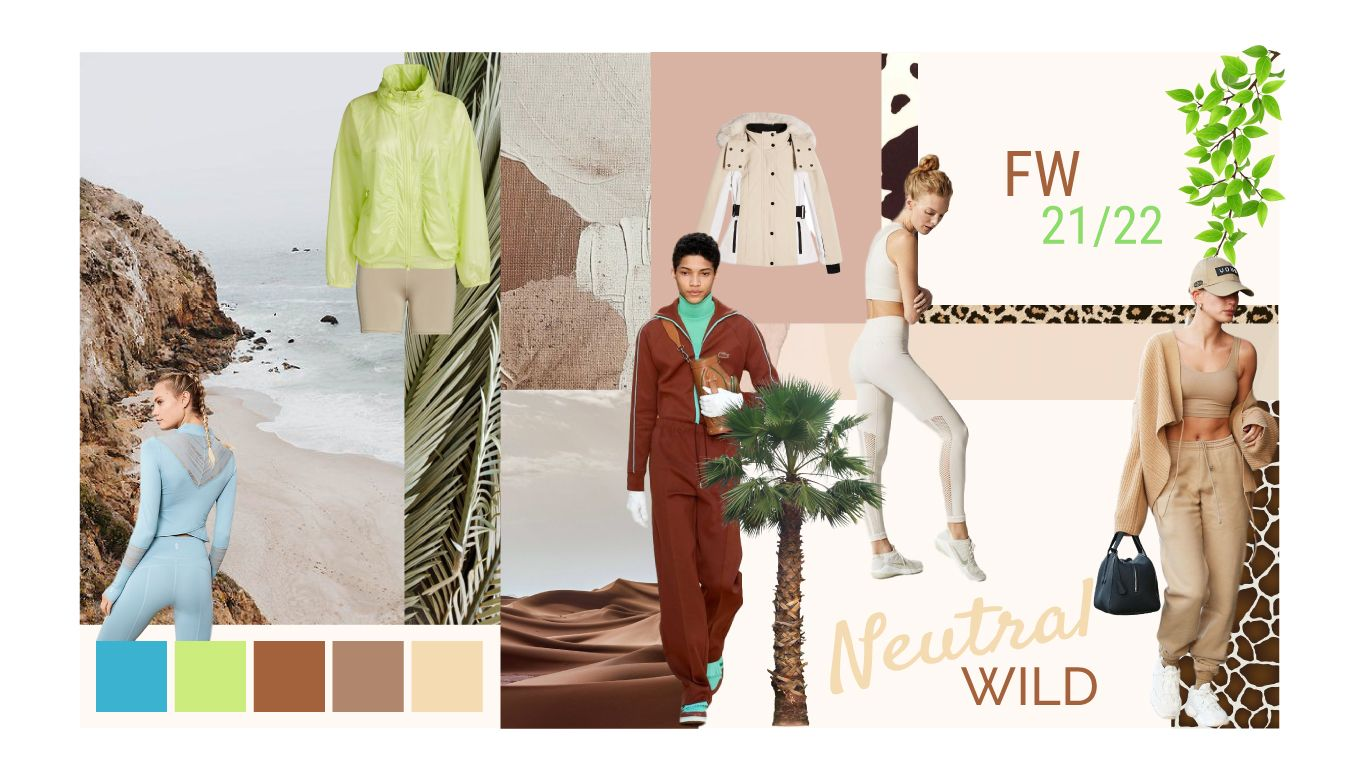 Athleisure Color Trends Forecast for Autumn Winter 7/7  Color