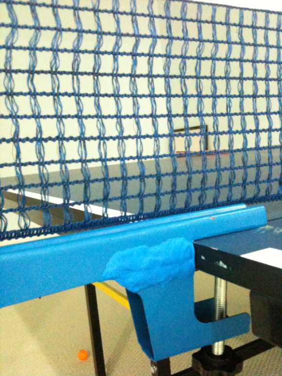 Fix A Table Tennis Net Post Stand Table Tennis Net Table Tennis Tennis