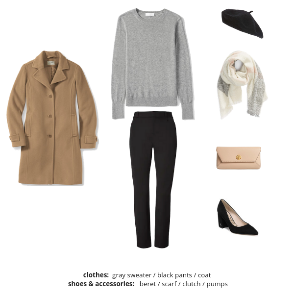 The French Minimalist Capsule Wardrobe: Winter 2018/2019 Collection images