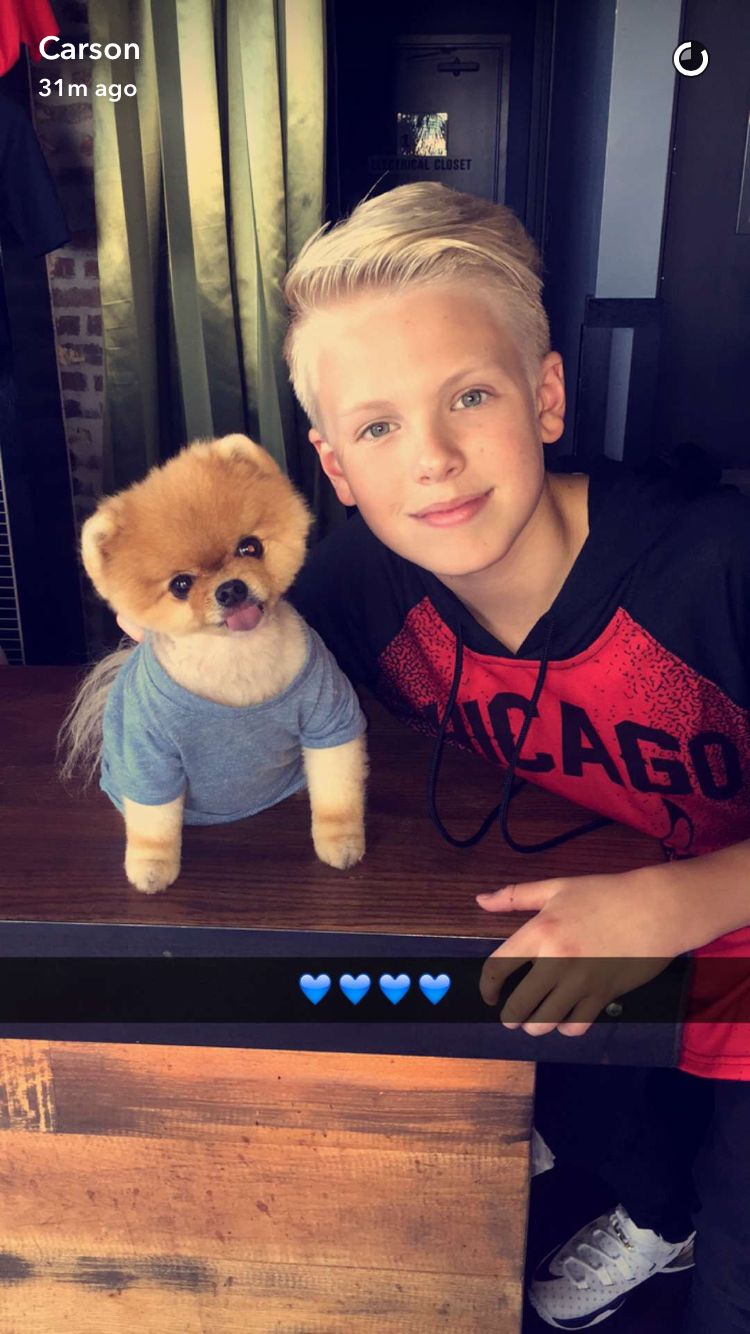 Carson Lueders Snapchat