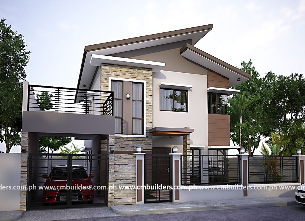 Modern Zen House, Modern House Plans, Small Modern
