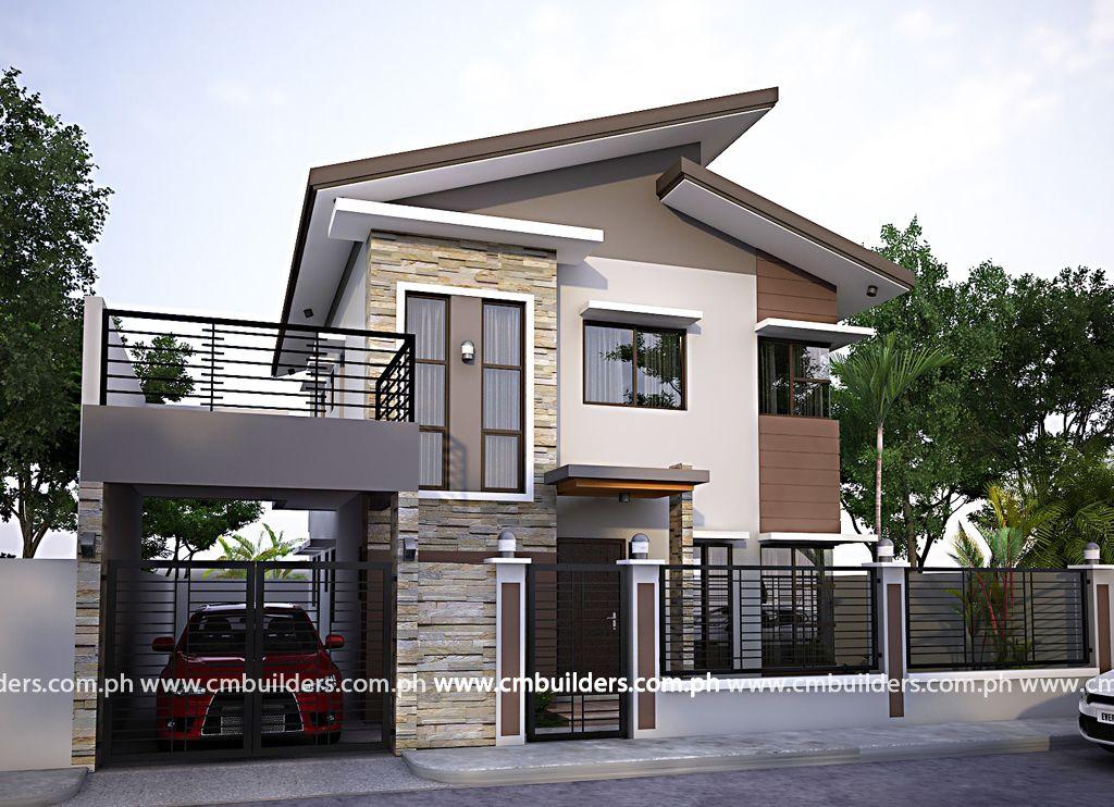 Modern Zen 2 Storey House Design Philippines House Design Zen
