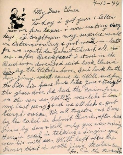 mother s letter to her son world war ii easter and news from chicago world war ii 23700