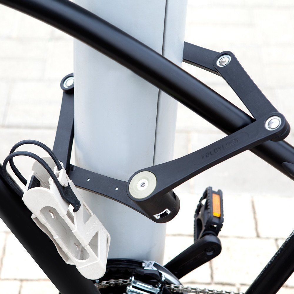 Foldylock Folding Bike Lock Bike Bicycle Gadgets