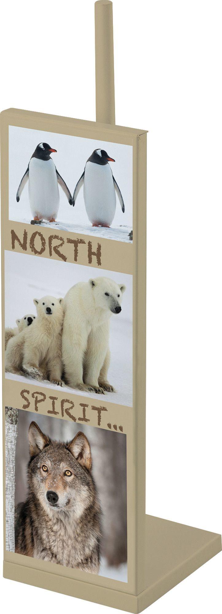 North Spirit Freestanding Toilet Tissue Roll Storage Holder