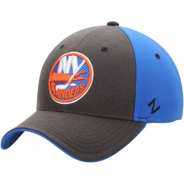 newest collection ff76a 844b0 Men s New York Islanders Zephyr Charcoal Steel ZFit Flex Hat, Your Price    24.99