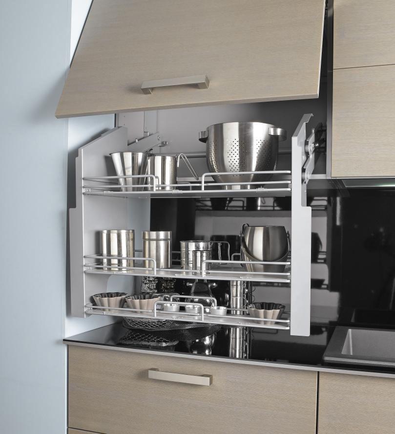 Rangement cuisine  les 40 meubles de cuisine pleins d\u0027astuces Woods