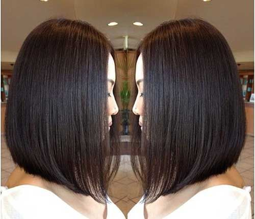 Trendy Inverted Bob Cut