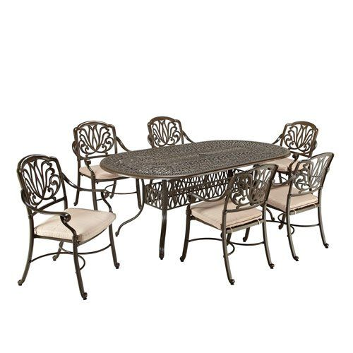 Home Styles Fl 7pc Oval Table Dining Set With Arm And Swivel Chairs Read More Reviews Of The Product By Visiting Link On Image