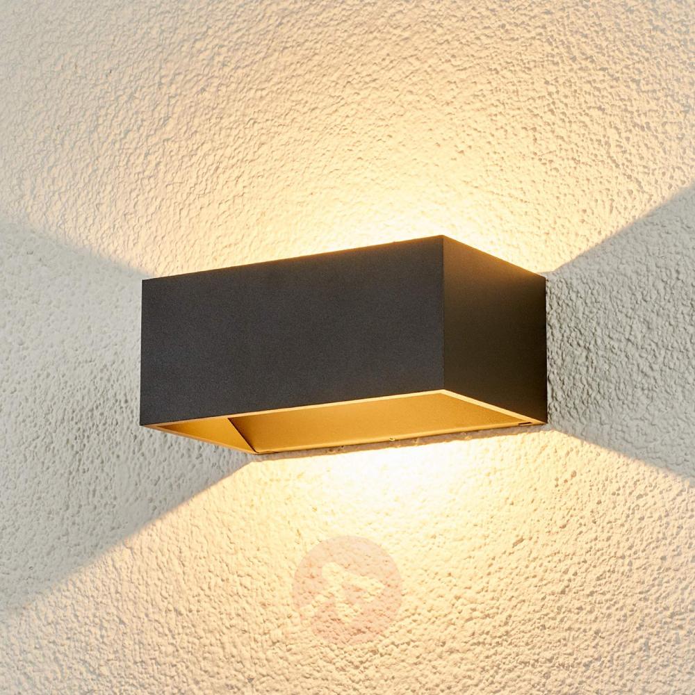 Kjella Led Aussenwandlampe Mit Bildern Aussenwandlampen Leuchtstoffrohre Led