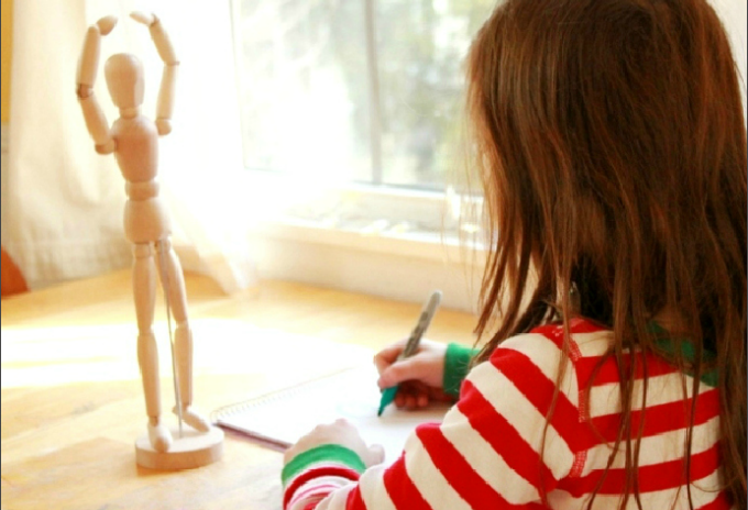 Observational Drawing with Kids