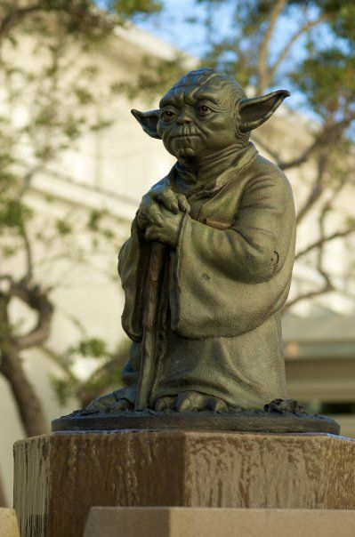 Yoda Statue, San Francisco   Gonna Need To Pay This One A Visit Or  Rather...visit This One I Will!