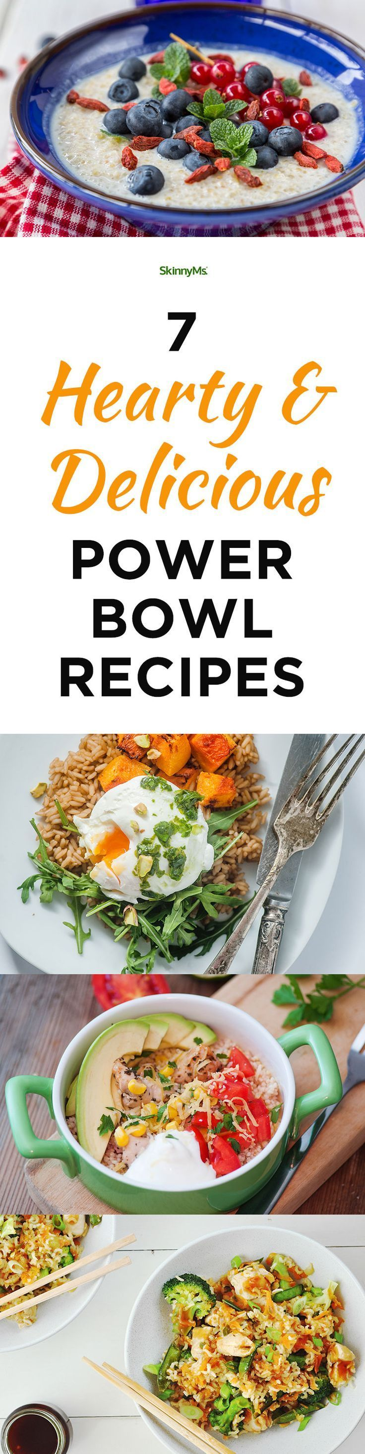 7 Hearty Delicious Power Bowl Recipes