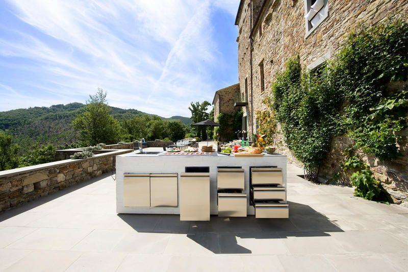 Bespoke outdoor kitchen by Indian Ocean. OK Italia 2   ID   Outdoor Furniture   Pinterest   Bespoke