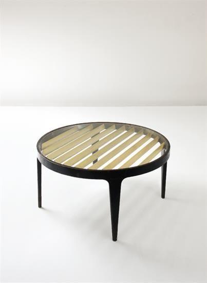 Design Italie Gio Ponti Table Basse 1950 C Dr Mid