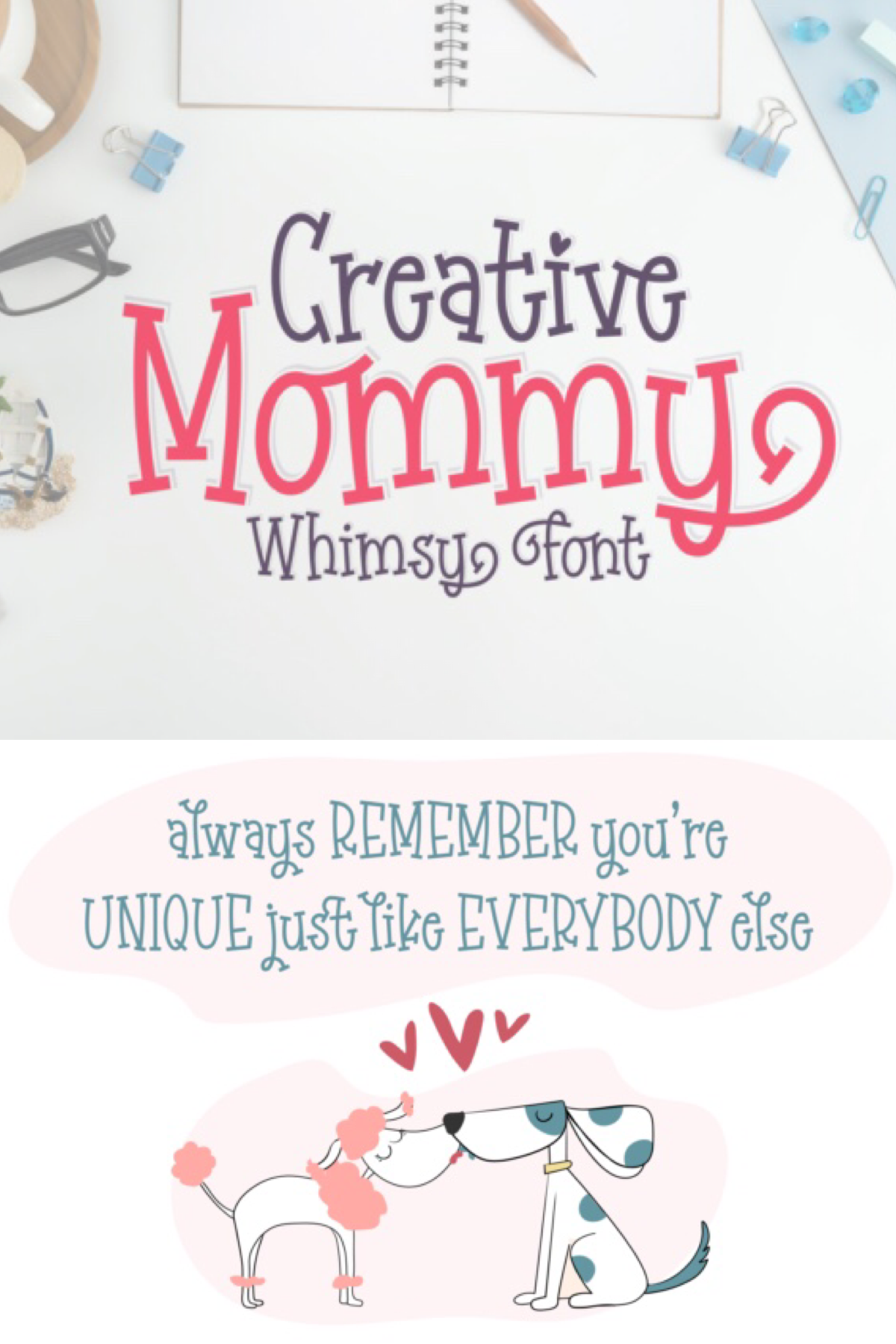 Creative Mommy (Font) by Situjuh Creative, New fonts