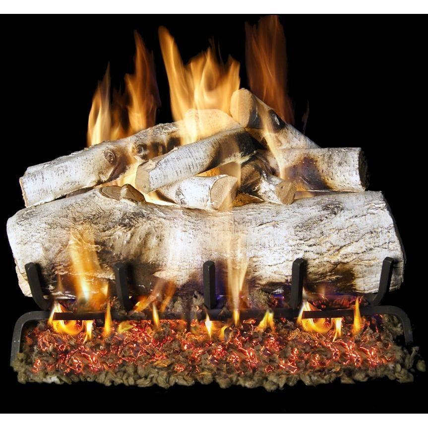 Peterson Real Fyre 30Inch Mountain Birch Gas Logs (Logs