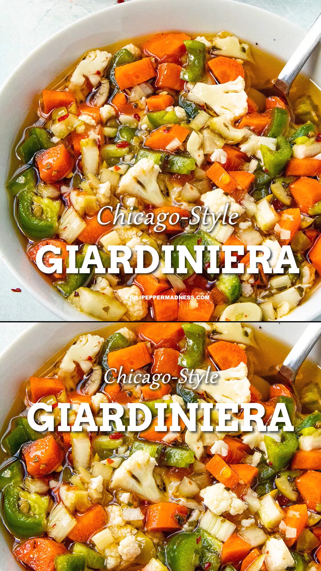 Chicago Style Giardiniera Recipe This authentic ho
