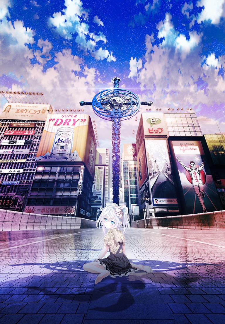 vídeo promocional e imagen del anime original hand shakers al aire