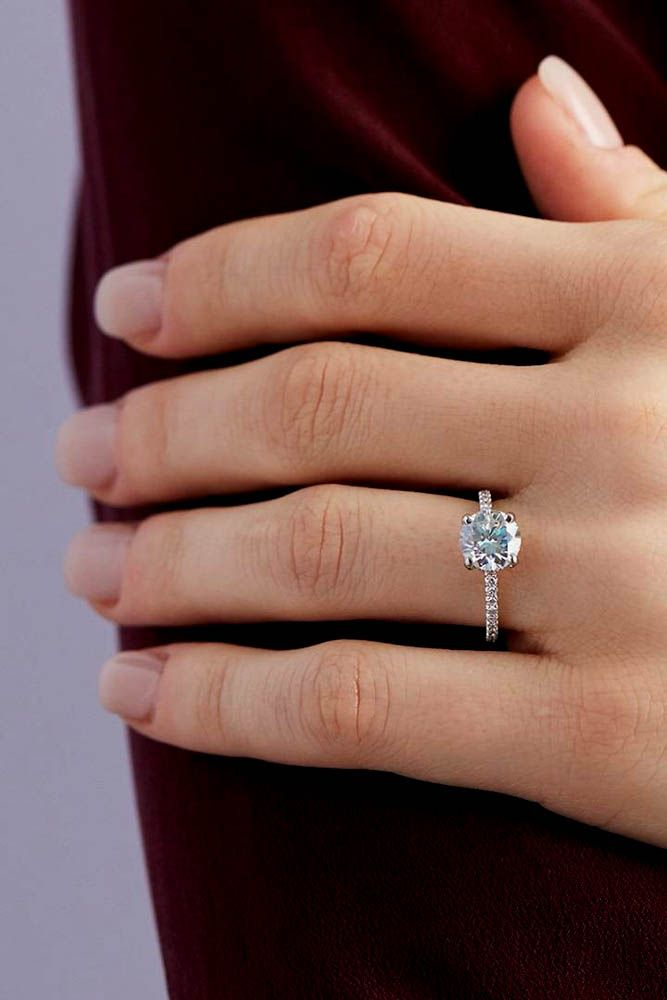 Engagement ring blue nile
