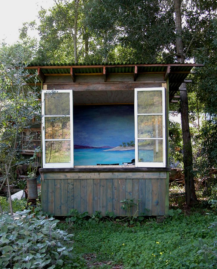 Garden Sheds From Recycled Materials outdoors: jeff shelton huts in santa barbara | santa barbara