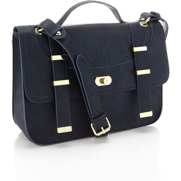 Accessorize Hoxton Satchel ($49) ❤ liked on Polyvore