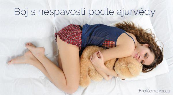 Boj s nespavostí podle ajurvédy: potraviny, nápoje a procedury podporující pevný spánek. | ProKondici.cz