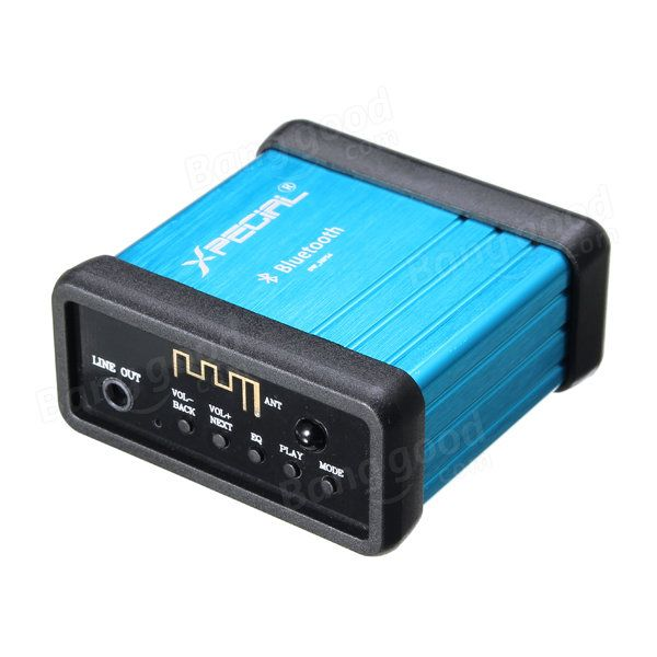 Wireless Bluetooth Audio Receiver Decoding Box Preamp Amplifier With Power Isolation Process And Remote Control Sale - Banggood.com