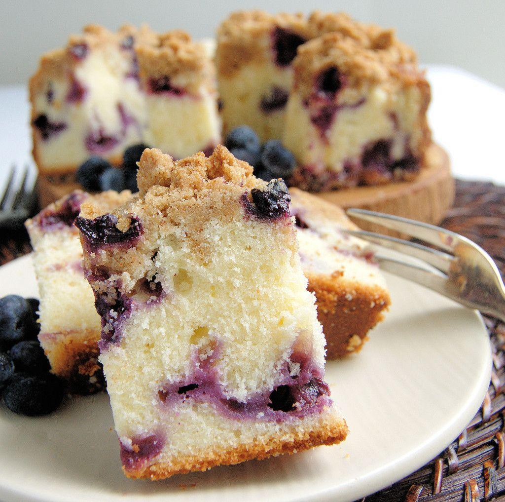 Blueberry Crumb Cake Recipe Baking, Coffee cake