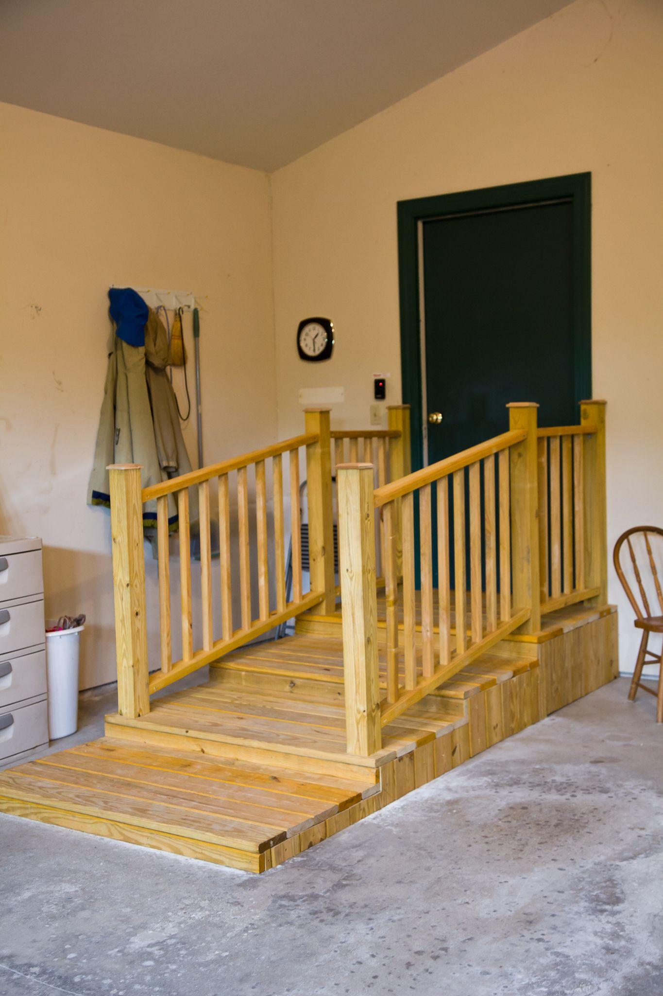 Garage Platform Stairs in 2020 With images   Garage ...