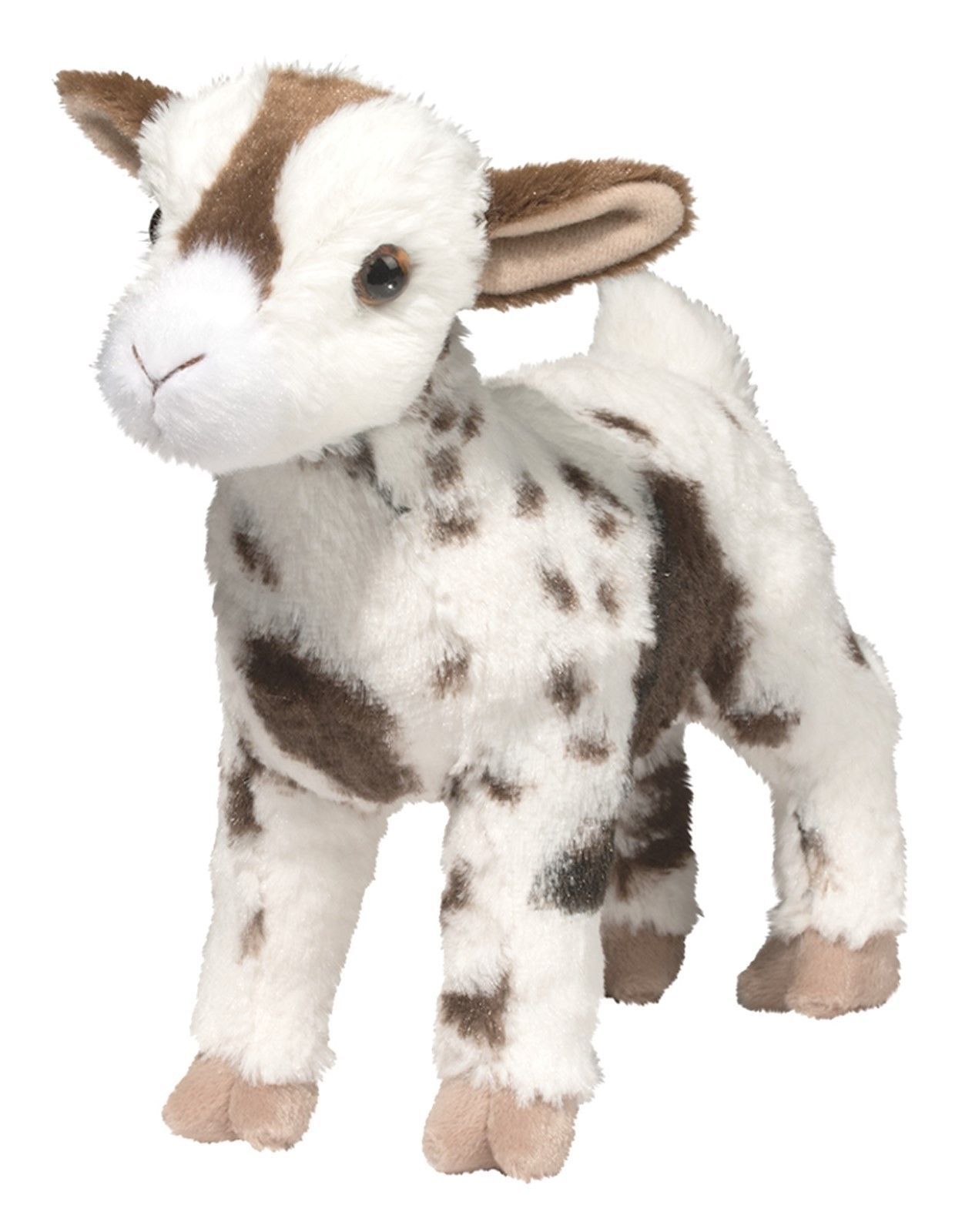 Douglas Gerti Goat 9 Plush Stuffed Farm Animal Gertie Goat Cuddle