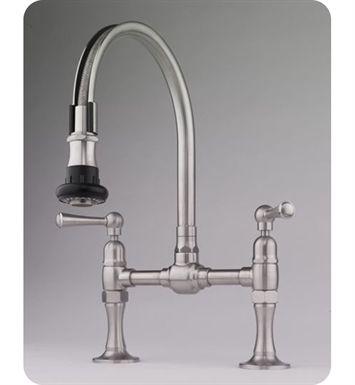 1215 Jaclo Steam Valve 1215 Deck Mount Bridge Kitchen Faucet Kitchen Faucet Kitchen Faucets Pull Down Faucet 2 handle kitchen faucet with pull down sprayer